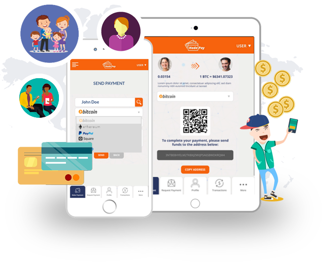 Hade Pay: Give your friends, family, and customers more options when making payments or sending money
